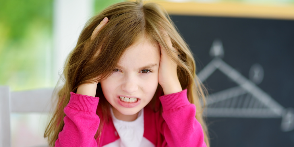STRESS IN KIDS: SIGNS & SOLUTIONS TO HELP CALM THE CHAOS