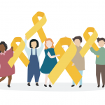"CoachArt Infographic: 6 Reasons to ""Go Gold"" for Kids With Cancer"